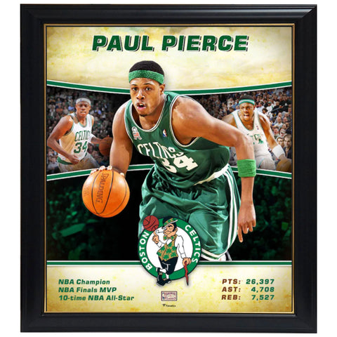 Paul Pierce Boston Celtics Player Collage Official Nba Print Framed - 4570
