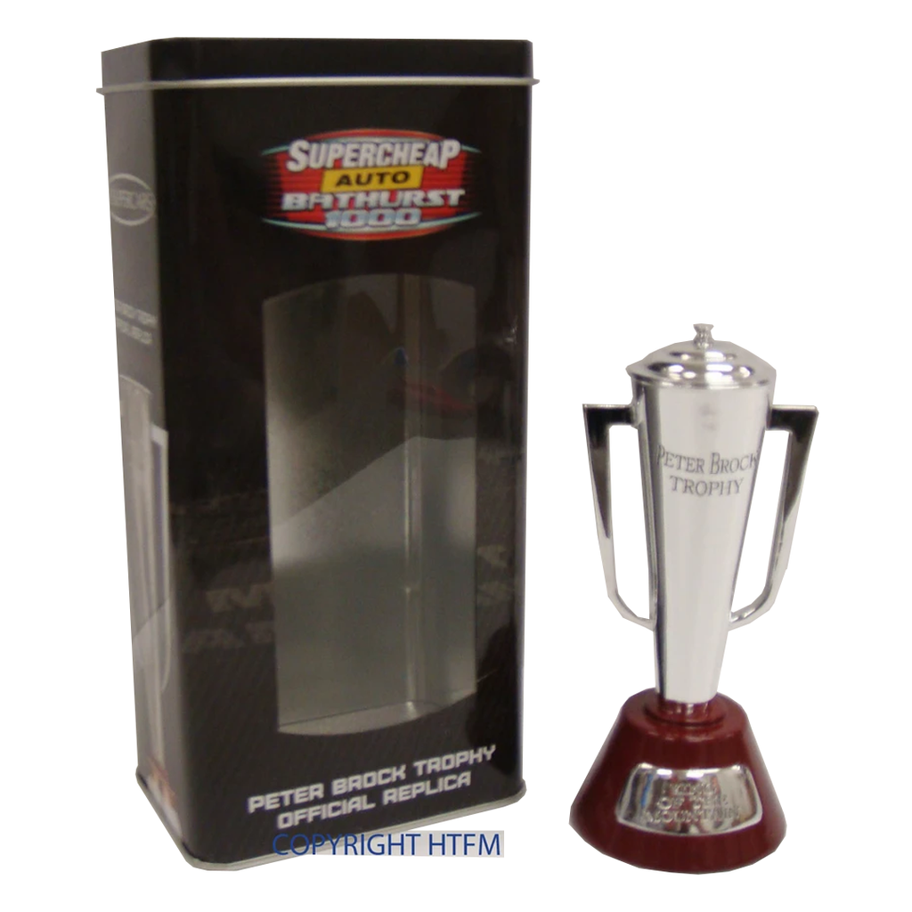 Peter Brock Bathurst Trophy in Collectors Tin - Bathurst Champion King Brock - 3479