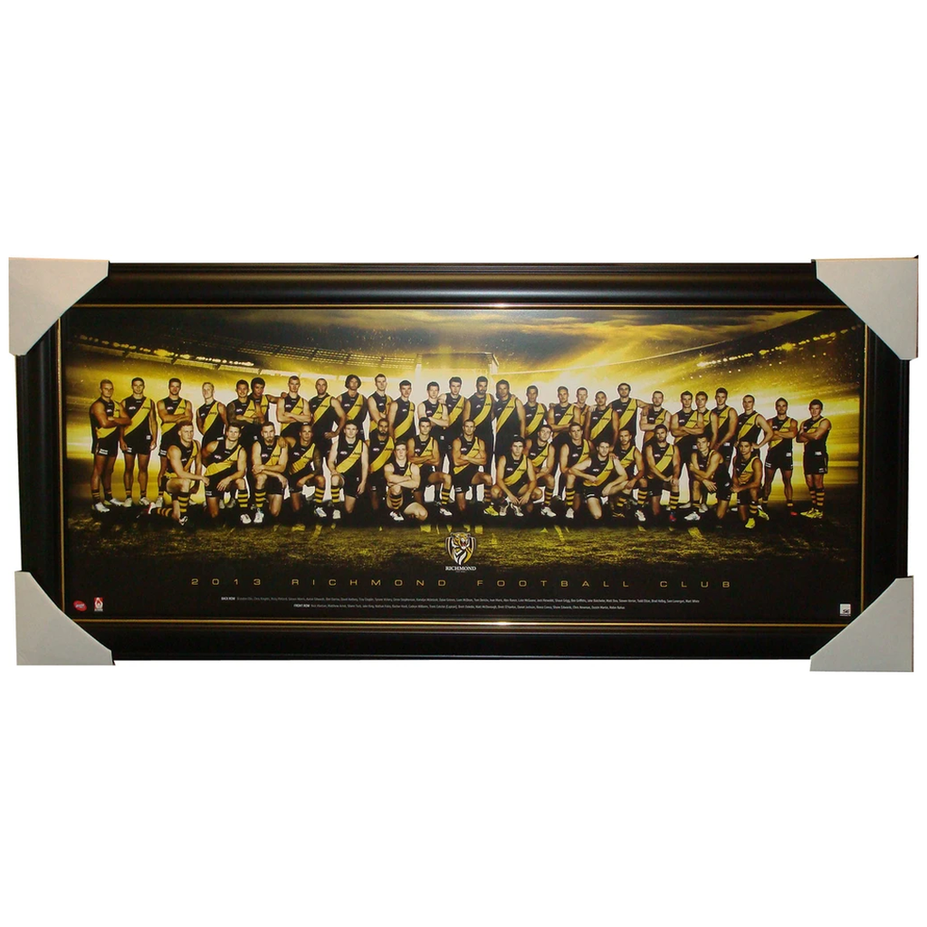Richmond Tigers 2013 Official Team Poster Framed - 1320