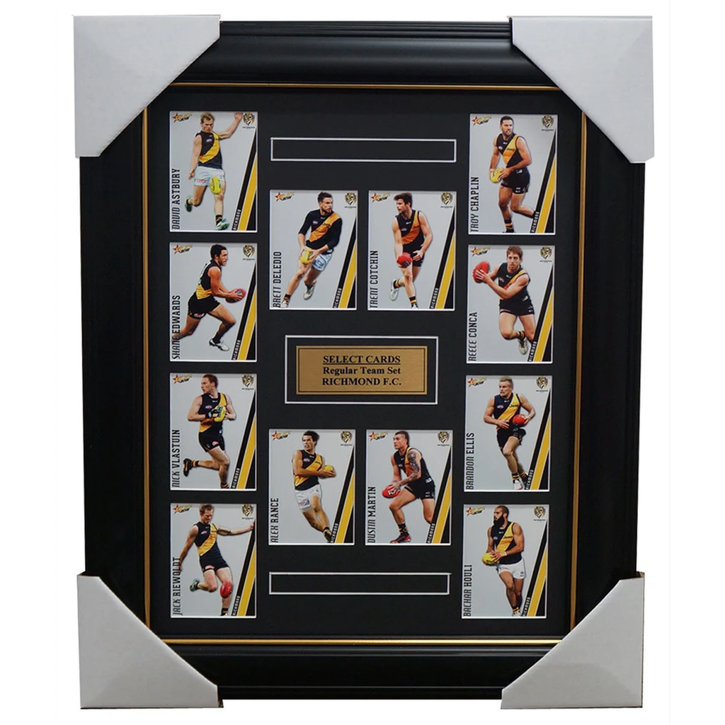Richmond Tigers 2015 Select Card Team Set Framed Trent Cotchin Riewoldt Martin - 1025
