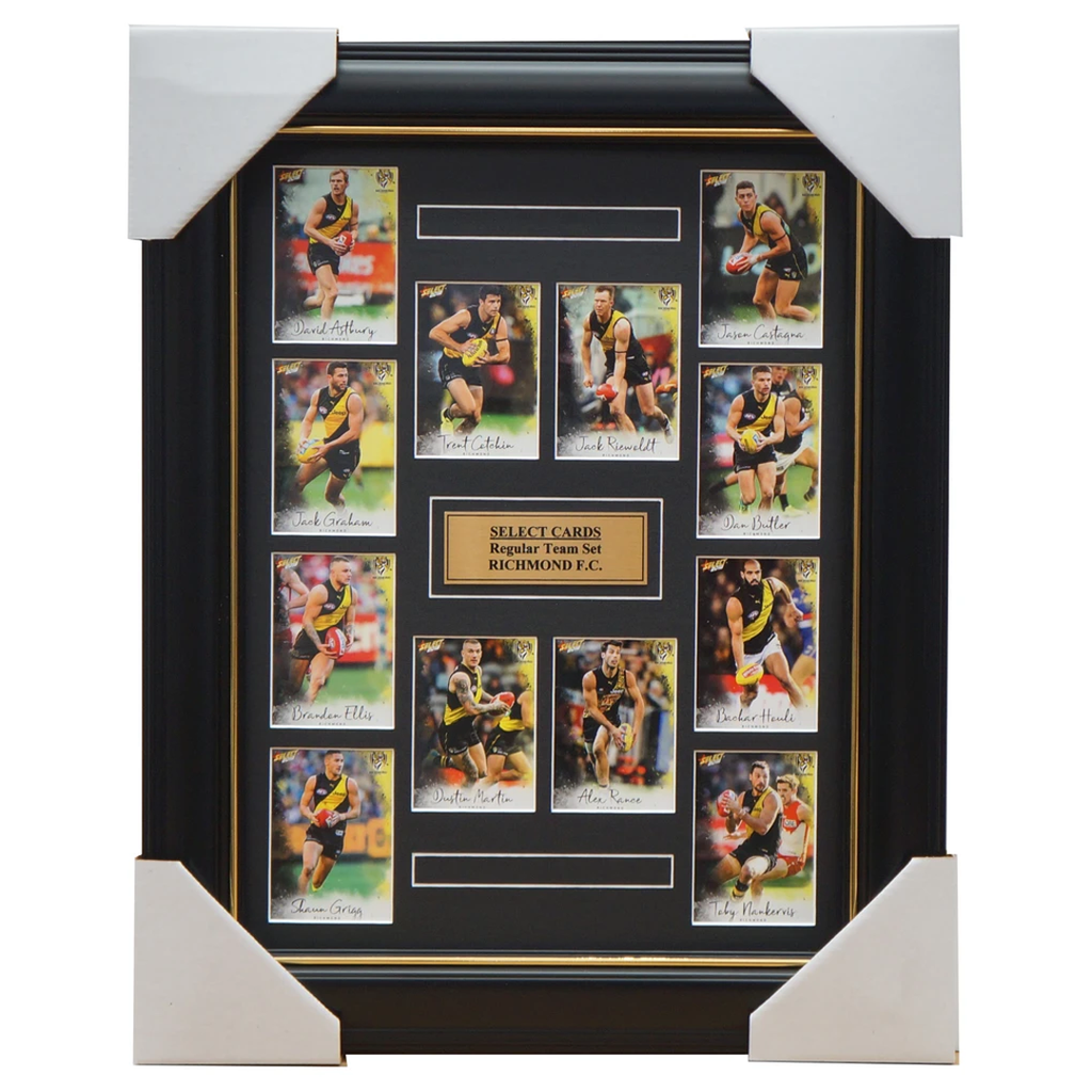 Richmond Tigers 2018 Select Card Team Set Framed Cotchin Dustin Martin Riewoldt - 3353