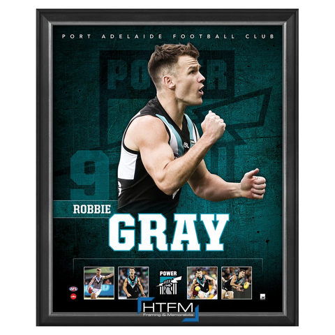 Robbie Gray Port Adelaide F.c. Official Licensed Afl Print Framed New - 3714