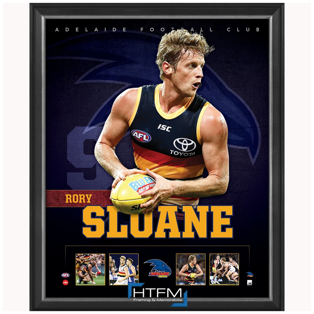 Rory Sloane Adelaide Football Club Official Licensed Afl Print Framed New - 3692