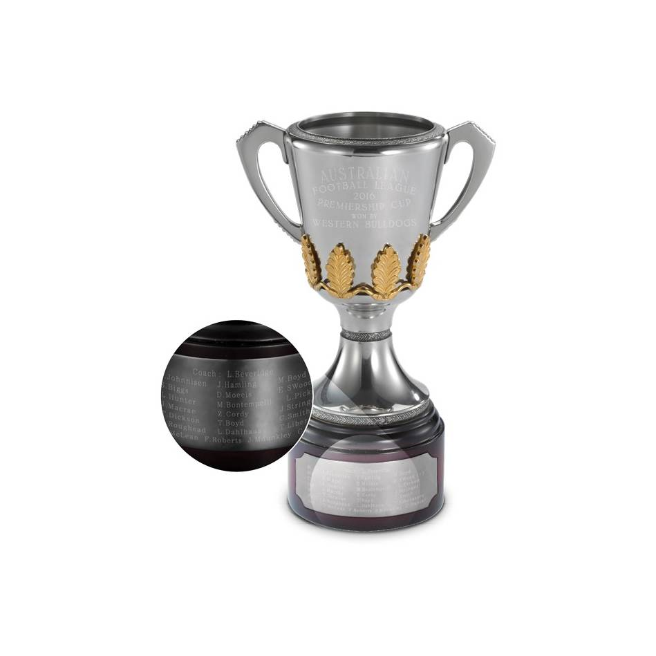 Collingwood Magpies 2010 Official AFL Replica Royal Selangor Premiership Cup - 4599
