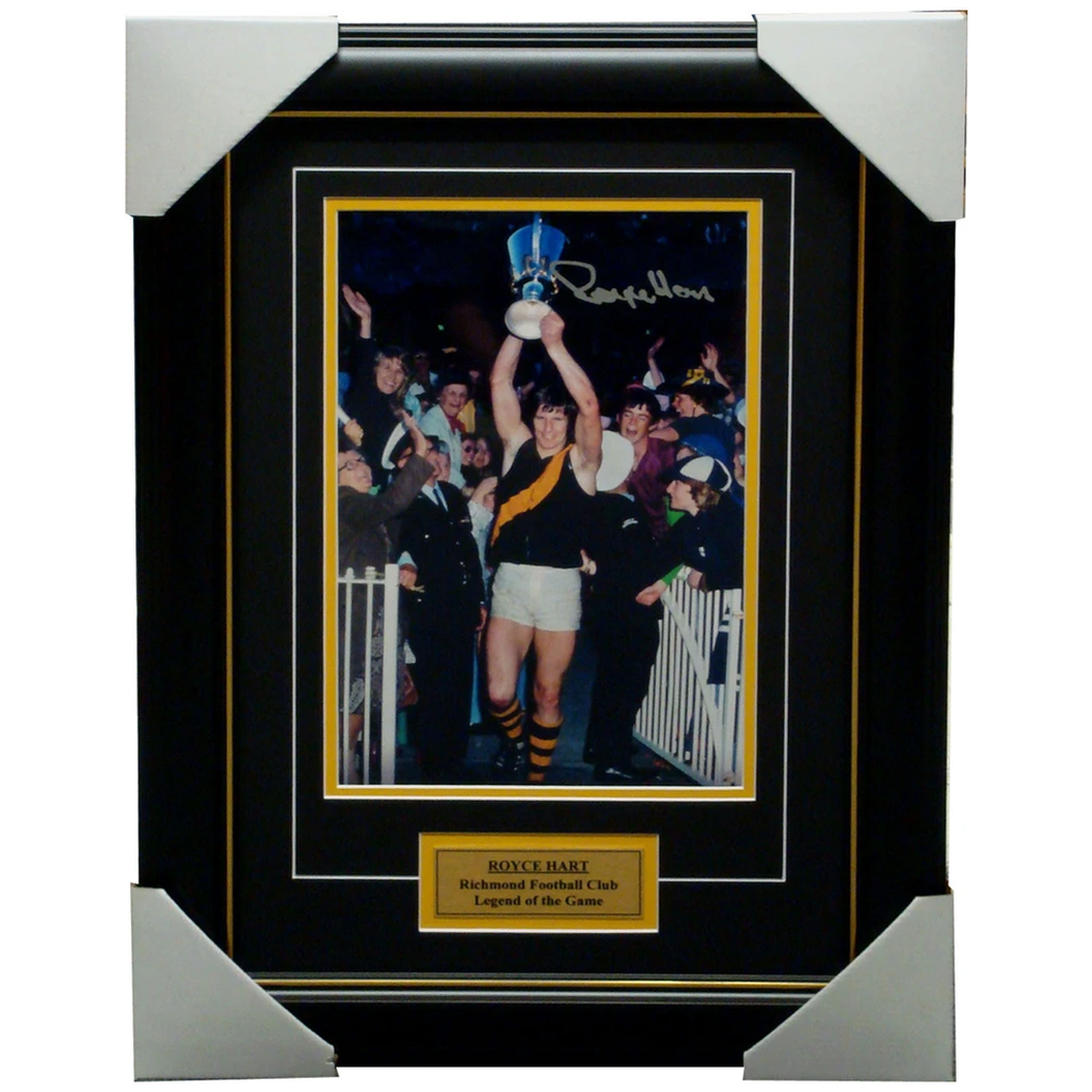 Royce Hart Richmond Legend Signed Photo Framed - 1186