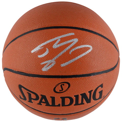 Shaquille O'Neal Los Angeles Lakers Autographed Spalding Indoor/Outdoor Basketball Official Fanatics - 4607
