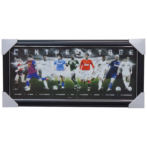 Soccer Centre Stage All Stars Limited Edition Print Framed - 3968