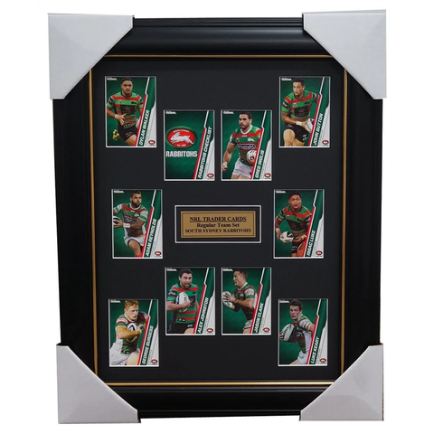 South Sydney Rabbitohs 2015 NRL Card Team Set Framed Greg Inglis Sutton Reynolds - 1042