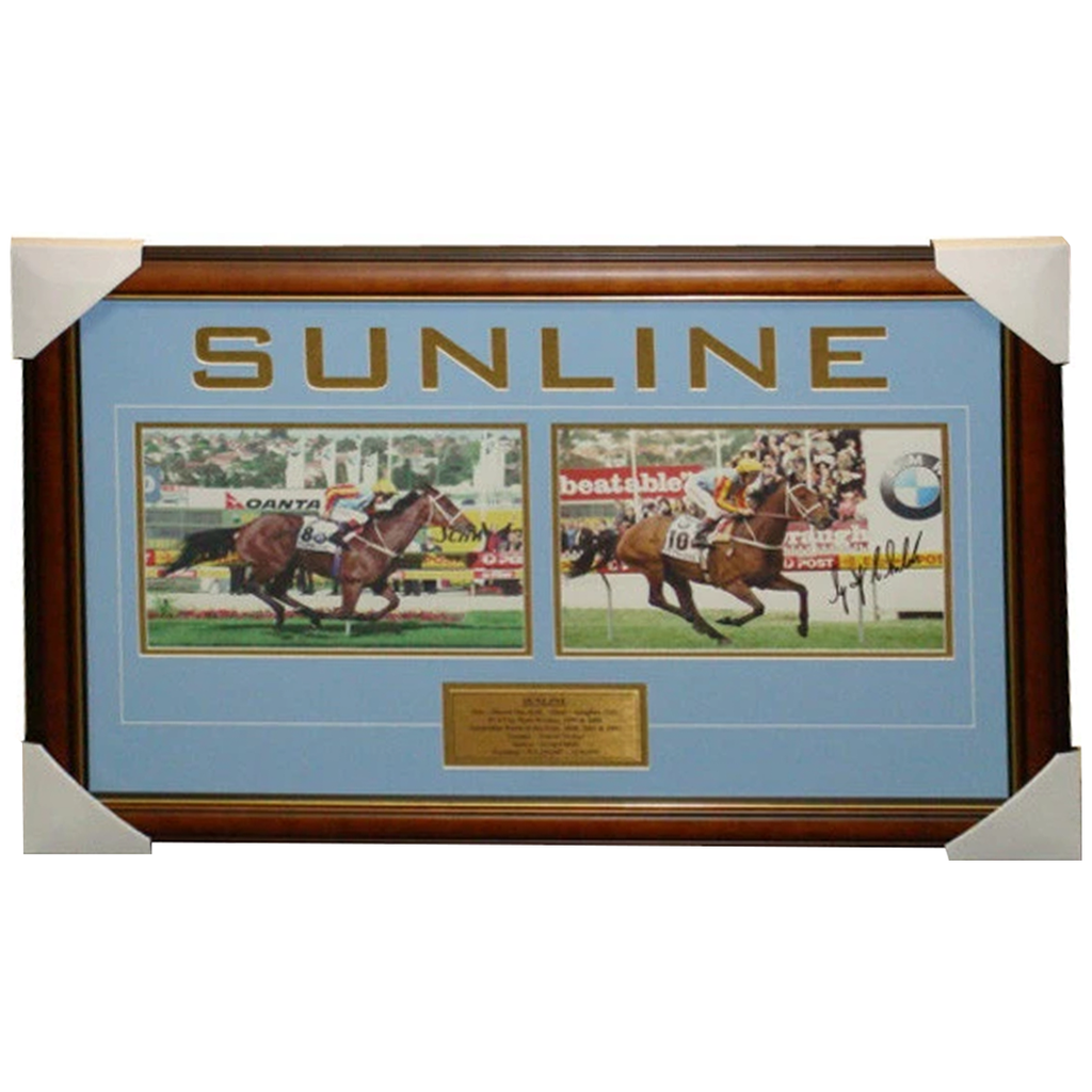 Sunline Dual Signed Photo Collage Framed with Plaque - 3262