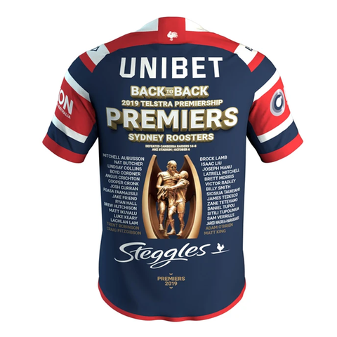 Sydney Roosters 2019 Premiers Official NRL Mens ISC Jerseys IN STOCK NOW - 3840