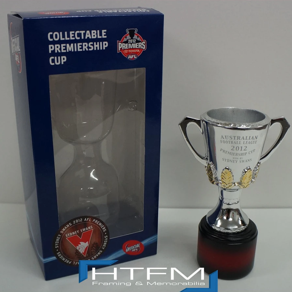 Sydney Swans 2012 Premiers Afl Official Premiership Replica Cup Goodes O'keefe - 2680