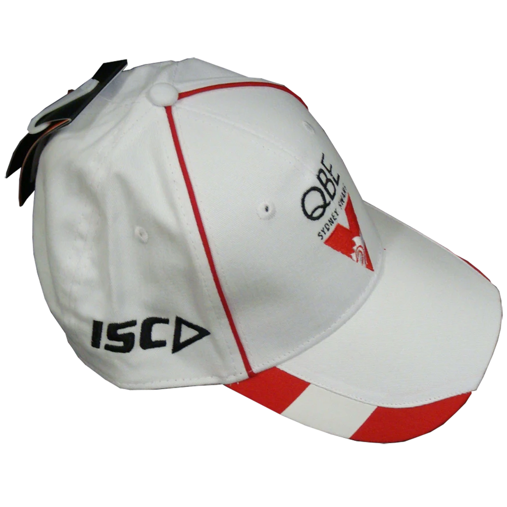 Sydney Swans White Official Isc Hat/cap Brand New - 1276