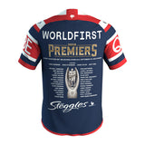 Sydney Roosters 2018 Premiers Official NRL ISC Jersey Size (M) Medium - 3598 In Stock