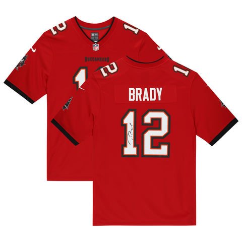 Tom Brady Tampa Bay Buccaneers Offiial Fanatics Red Replica Jersey Superbowl Champions - 4625