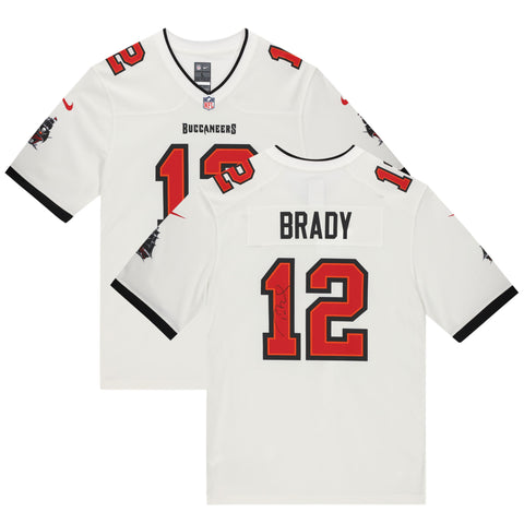 Tom Brady Tampa Bay Buccaneers Offiial Fanatics White Replica Jersey Superbowl Champions - 4624