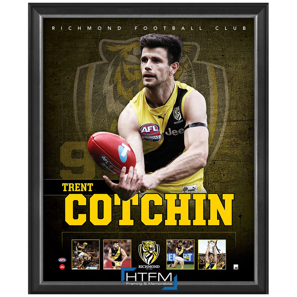 Trent Cotchin 2017 Premiers Richmond F.C. Captain Official Licensed AFL Print Framed NEW - 3712
