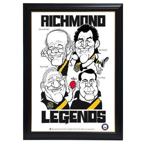 Weg Richmond Legends Print Framed - 4282