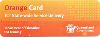Department for Education and Training - Orange Card - ICT State-wide Service Delivery