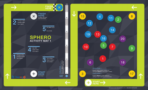 Buy Sphero SPHERO Activity Mat 1 STEAM Accessory  - New Gauge Digital