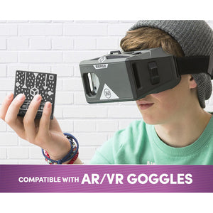 Buy Merge Merge VR Mobile AR/VR Headset & Holographic Cube Bundle (Grey) Connected Toys  - New Gauge Digital