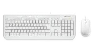 Buy Microsoft Microsoft Keyboard and Mouse (Wired) - White Keyboard and Mouse  - New Gauge Digital