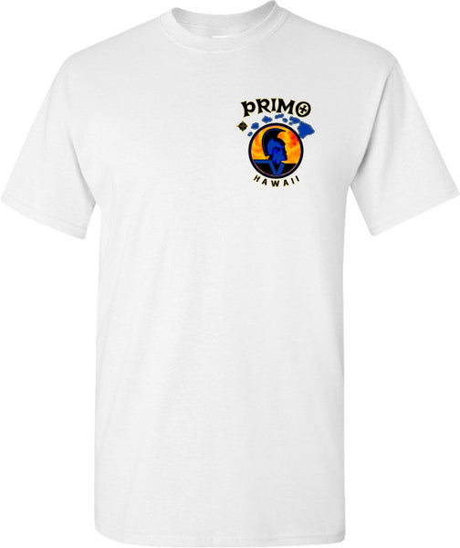 Primo White T shirt front