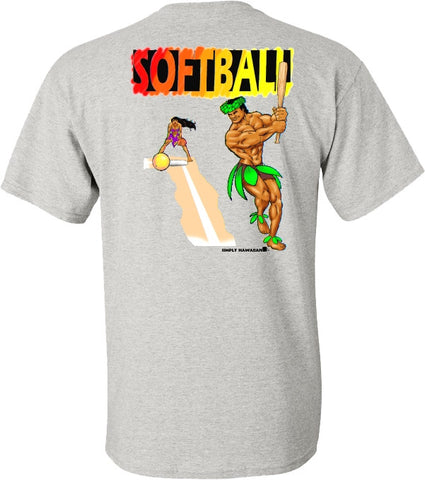 SOFTBALL island style T Shirt