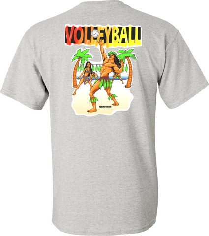 VOLLEYBALL island style T shirt