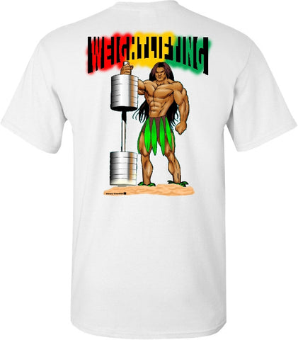 WEIGHTLIFTING island style T shirt