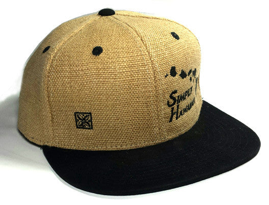 Burlap Islands Black Snap Back
