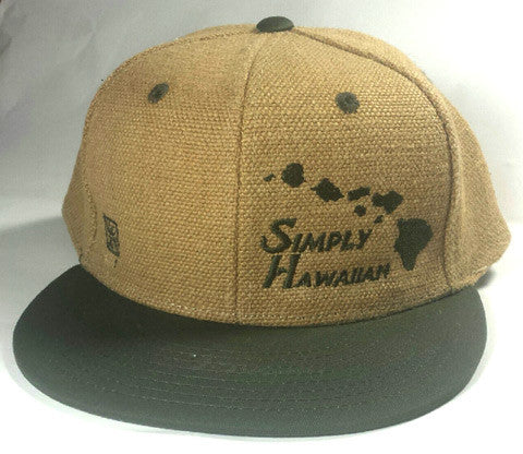 Burlap Islands Snap Back Green