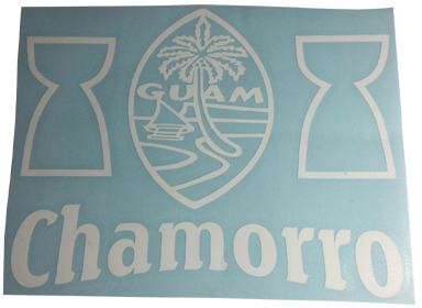 Chamorro Latte Seal Sticker!