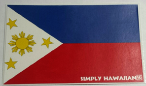 Filipino Flag Sticker