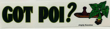 Got Poi? Sticker