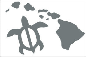 Honu Hawaiian Islands Sticker