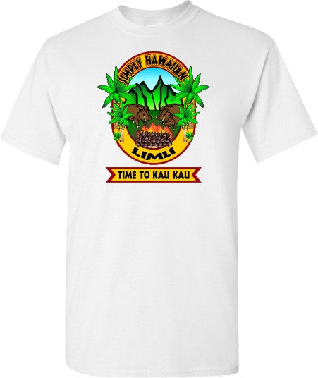 LIMU Time to Kau Kau T Shirt