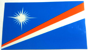 Marshall Island Flag Sticker