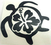 Petro Honu Hibiscus black Sticker