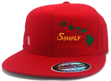 Rasta Islands Red FlexFit hat
