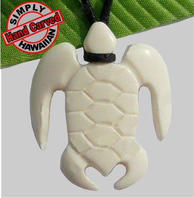 Sea Honu Bone Necklace