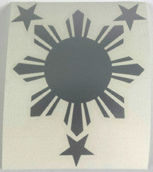 FREE Filipino Sun & Stars Sticker!
