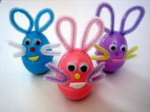 Teach your kids to make Easter Eggs this Easter!
