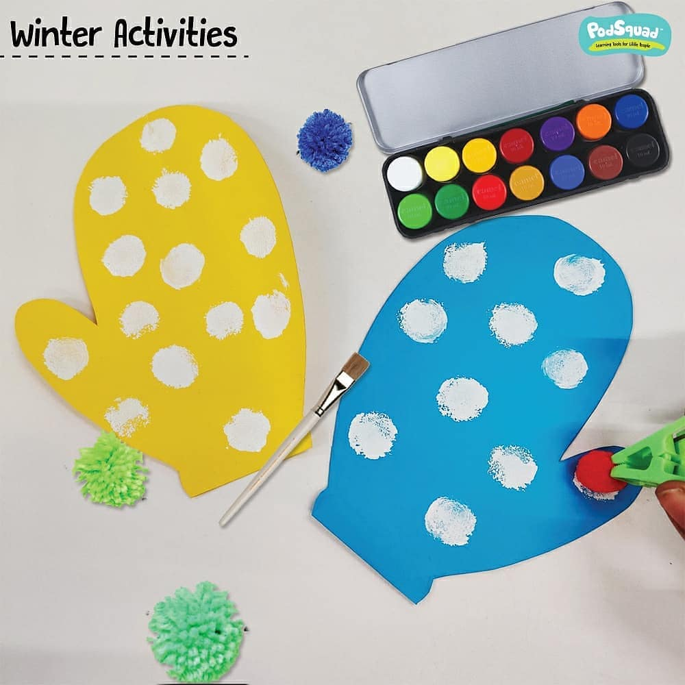 4 Fun winter activities to keep your toddler engaged!