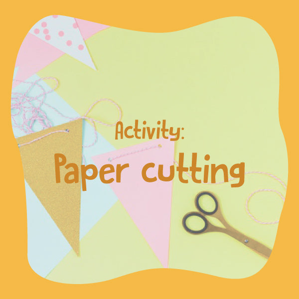 Fun paper cutting activity.