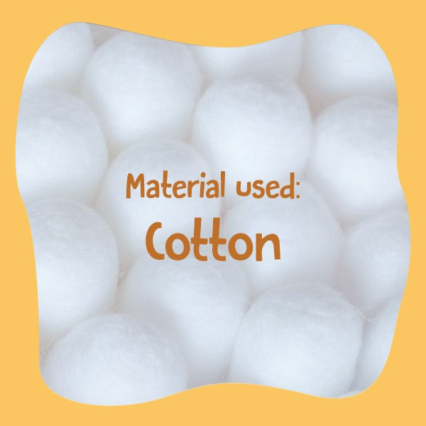 Exciting activities with cotton.