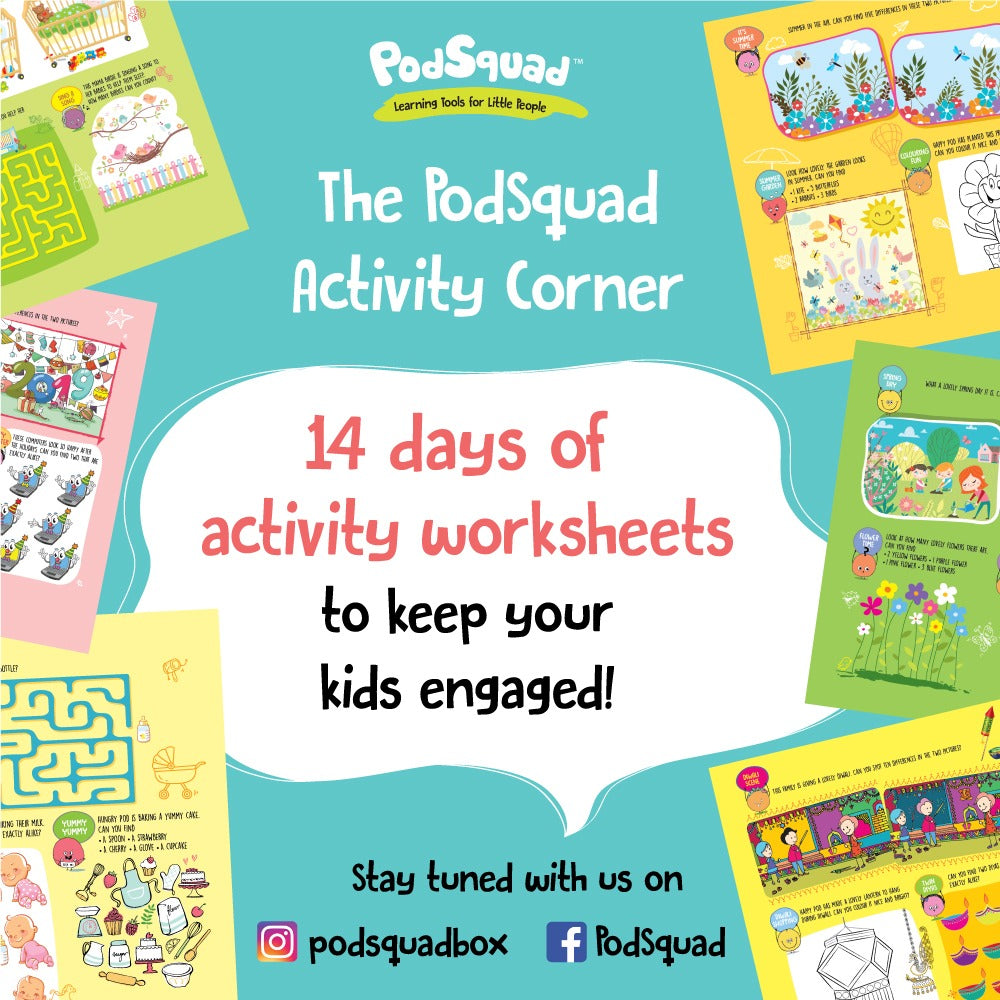 Download the printable activity worksheets.
