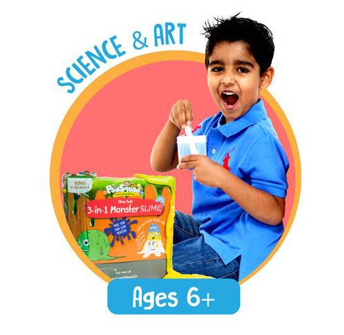 Science and Arts - Age 6 Plus - activity kits for children