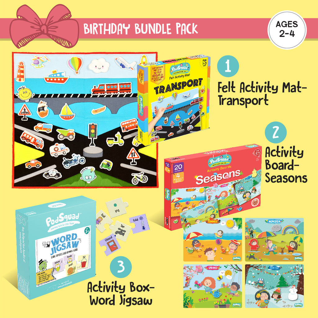 Birthday Bundle Ages  2-4 years