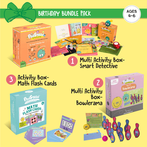 Birthday Bundle Ages 4-6 years