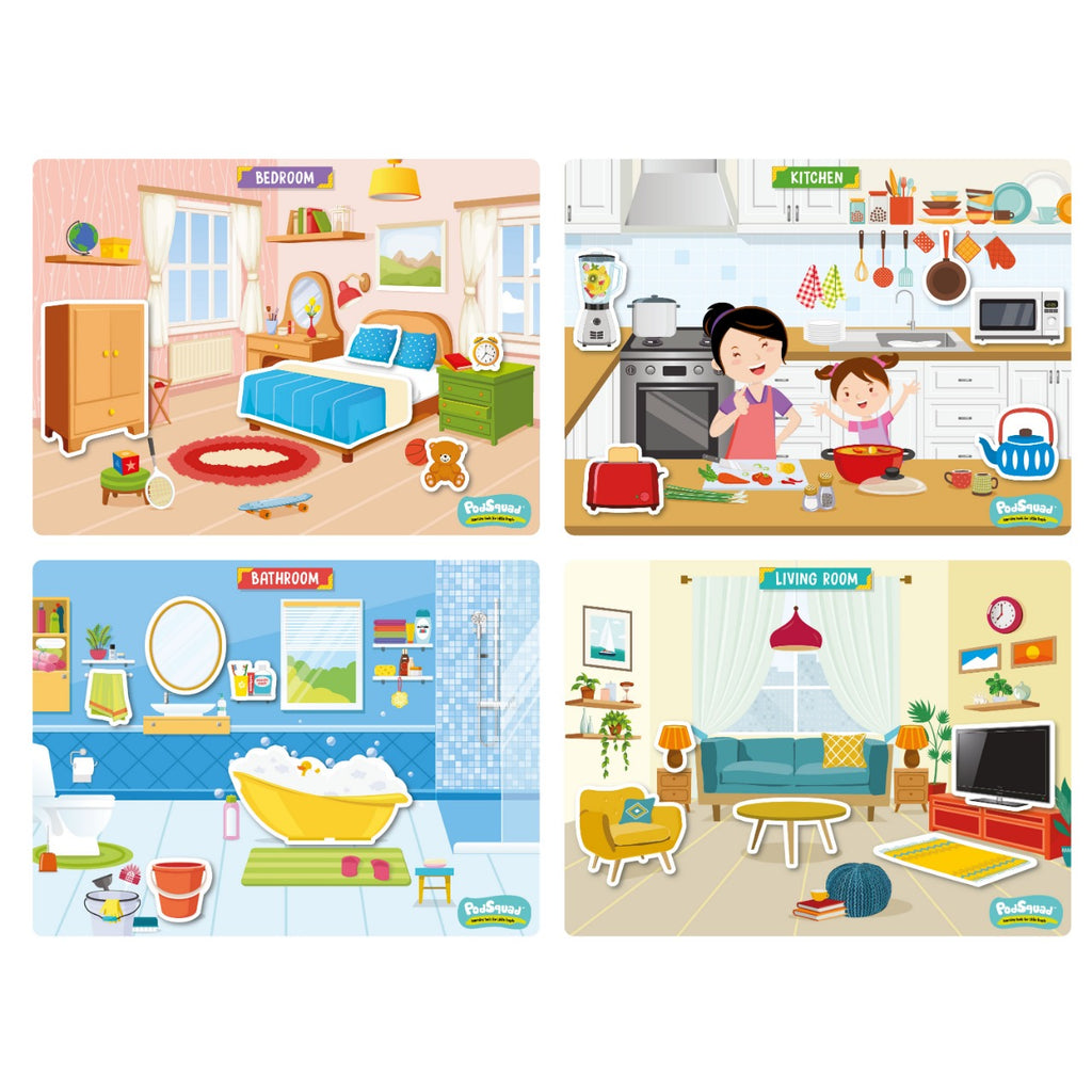 Activity Boards - My House